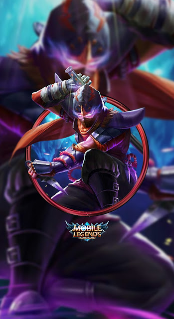 Gambar Wallpaper Hero Mobile Legends Hayabusa