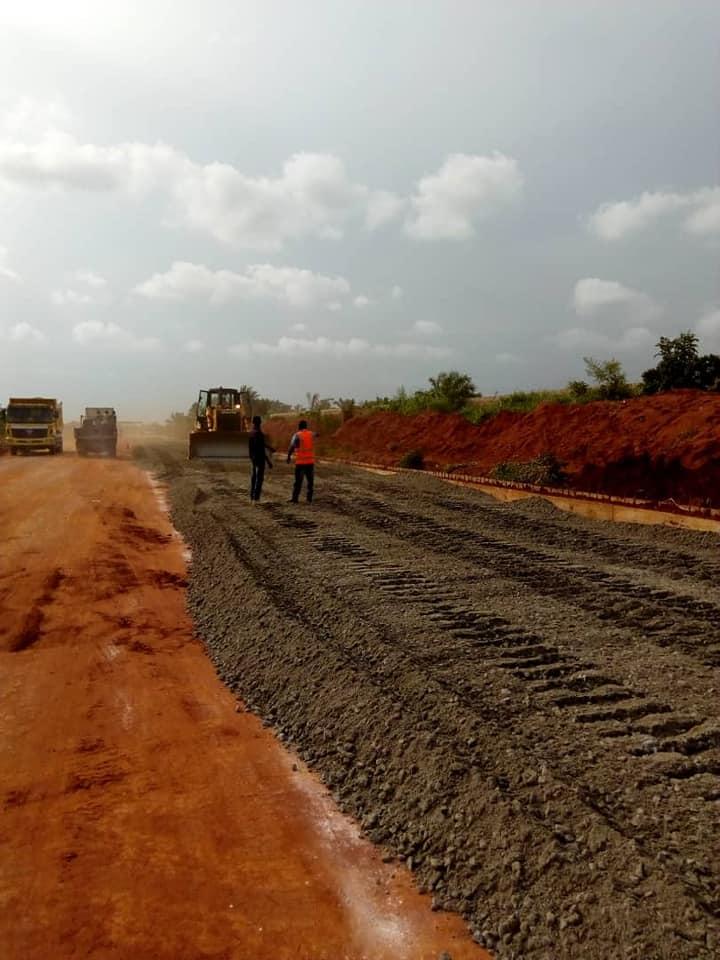 Succor For Residents of Agbara, Lusada Area As Construction Works Begin - Photos