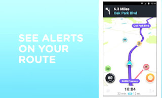 Notify pop-ups, waze