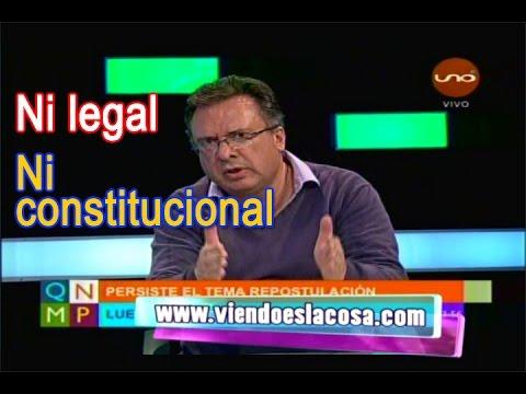 DR. CARLOS ALARCÓN DESBARATA MECANISMOS DEL MAS QUE INTENTAN REPOSTULAR A EVO MORALES
