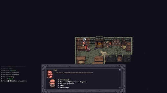 Stoneshard is a serious RPG with an interesting pumping system for true connoisseurs. You have to fight in turn-based battles, and this is not easy.