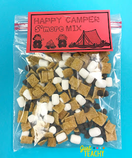 camping-theme-s'mores-bag-topper