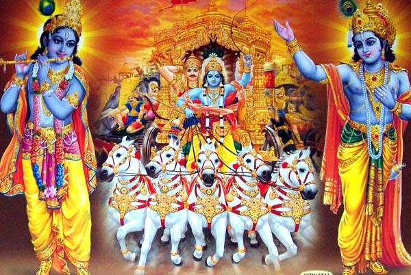Krishna Images in Mahabharat