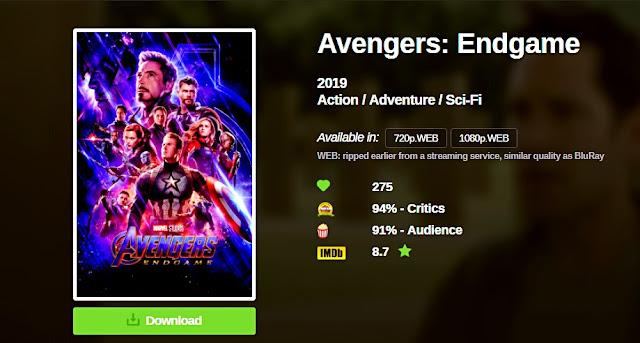 avengers endgame | طريقة تنزيل فيلم أفينجرز نهاية اللعبة بجودة صورة عالية وبمساحة صغيرة جداً - تحميل فيلم avengers endgame
