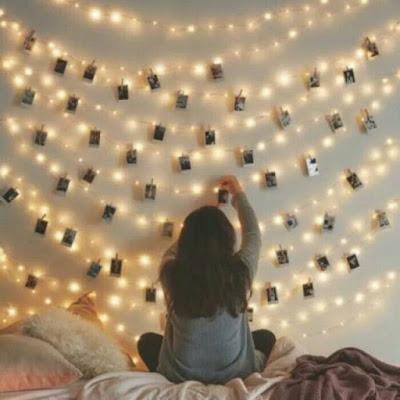 Cara Memasang Lampu Tumblr Agar Kamar Tampak Unik
