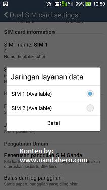 Solusi Tidak Bisa Mengubah Jaringan 2G ke 3G Asus Zenfone 5
