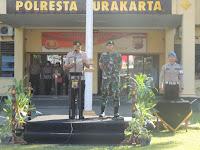 Dandim 0735/Surakarta Bersama Kapolresta Surakarta Pimpin Apel Konsolidasi OKC 2019