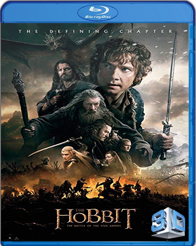 The Hobbit: The Battle of the Five Armies [Extended] [2014] [BD50] [Subtitulado] [3D] [2 DISC]