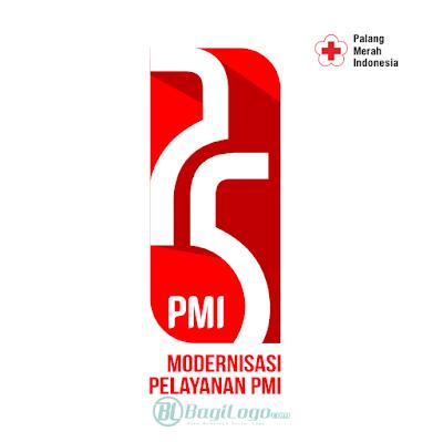 HUT PMI ke-75 (2020) Logo Vector