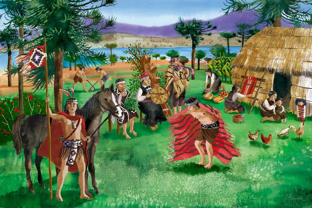Resultado de imagen para mapuches pueblo originario chileno