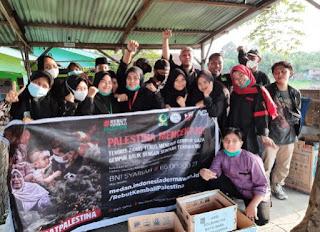 Peduli Palestina, GPII Batu Bara Galang Dana