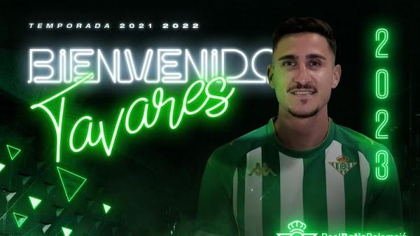 Oficial: Betis Deportivo, firma Raúl Tavares