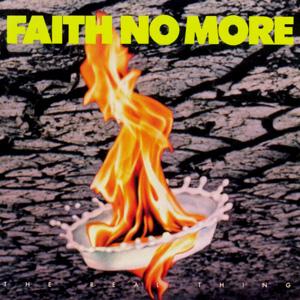 Portada del álbum THE REAL THING de FAITH NO MORE