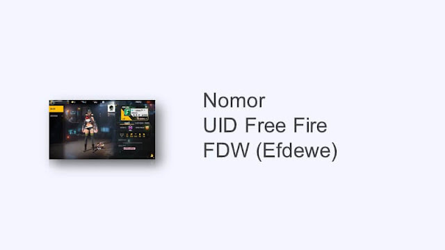 id ff fdw asli