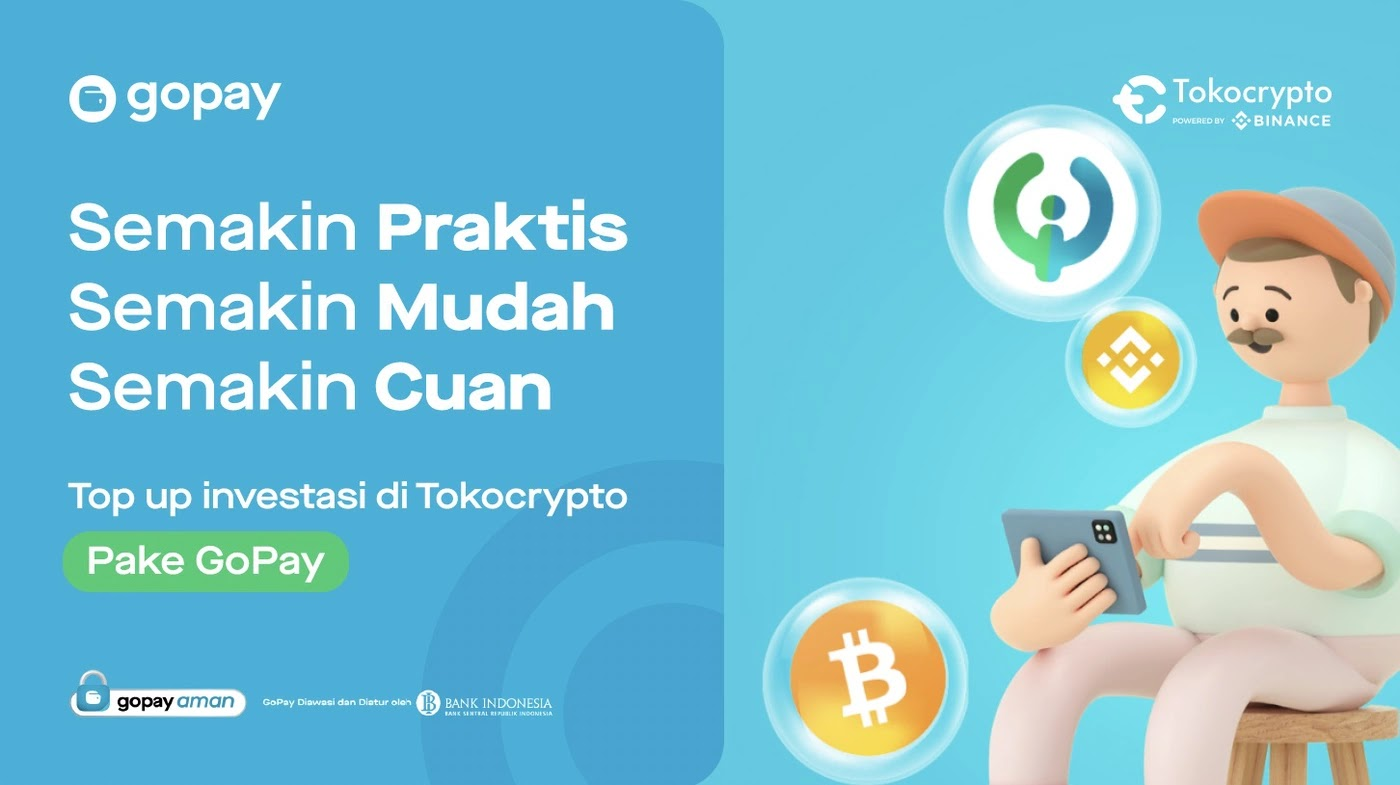 Cara Top Up Tokocrypto dengan GoPay