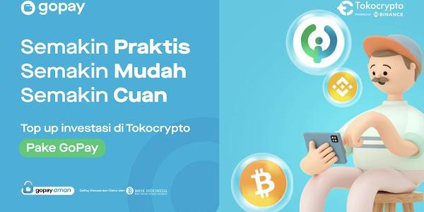 Cara Deposit di Tokocrypto via GoPay dan Bank