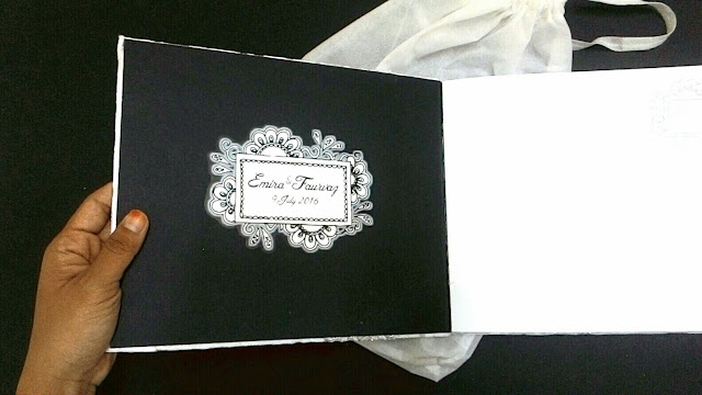 lubuk seni _ Mewah & esklusif sangadd guestbook Adorable Lace.
