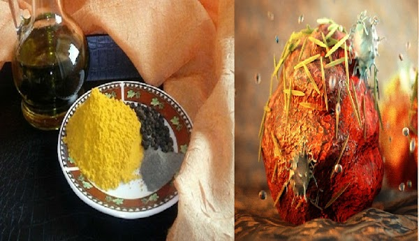 Simply Use 1/2 Turmeric Tea Spoon You Will Be Free From Cancer
