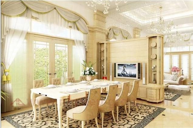 Các phong cách thiết kế biệt thự cổ điển trong năm 2016