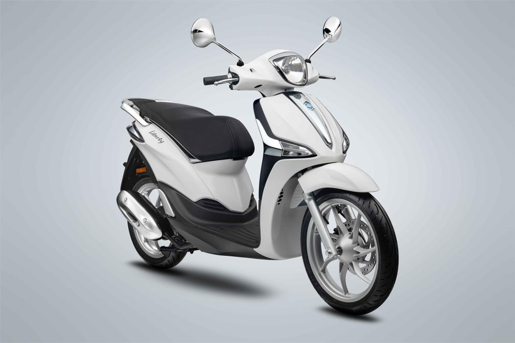 Piaggio Liberty 50 phân khối ra mắt VN, giá ngang Honda Lead