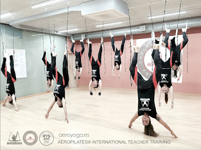 yoga, aeroyoga, barcelona, aerial yoga, yoga aereo, body, soul, columpio, hamaca, trapeze, españa, teacher training, formacion, cursos, clases, wellness, fly, flying