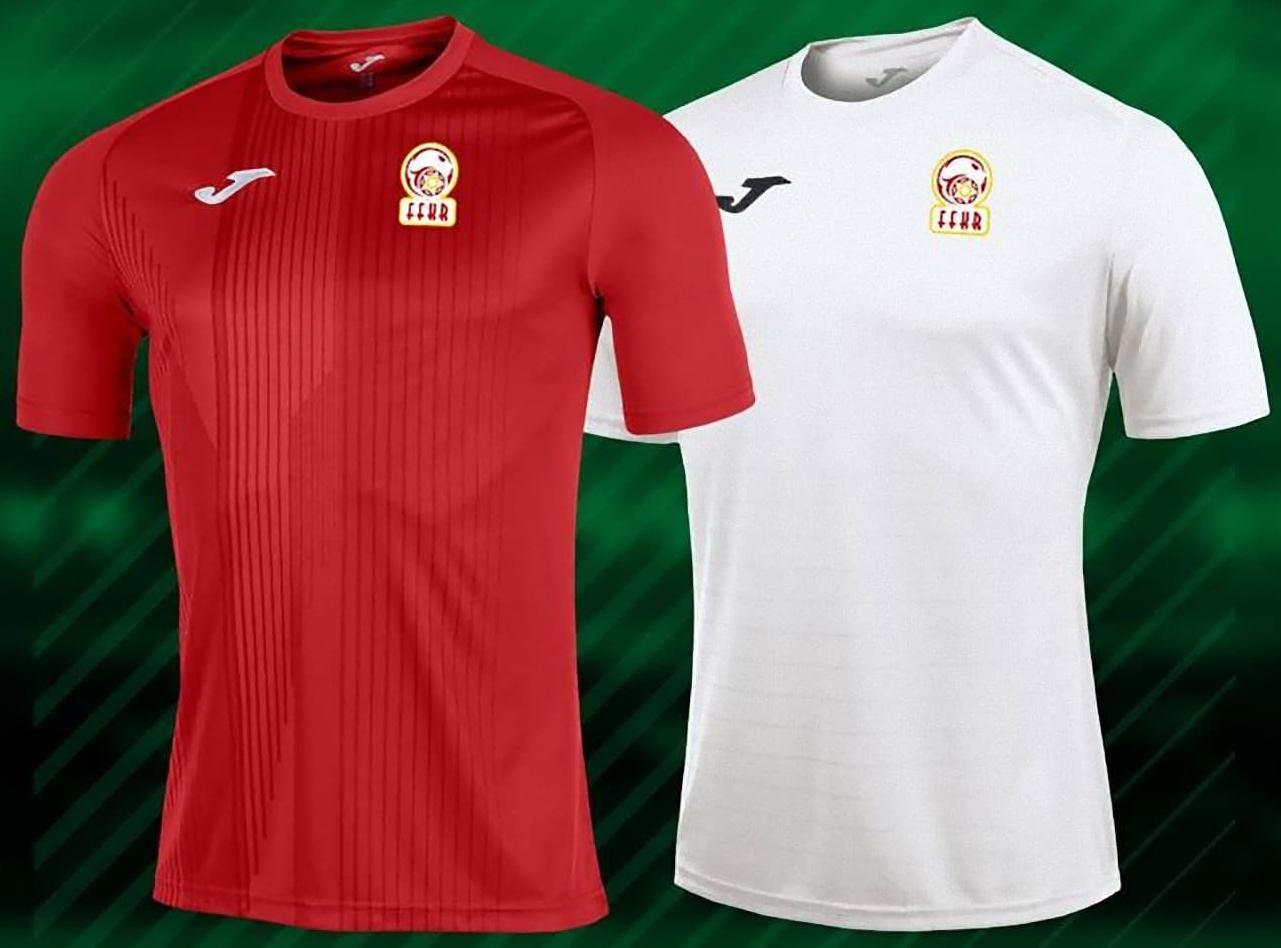 d3d54b6667 Joma divulga as novas camisas do Quirguistão