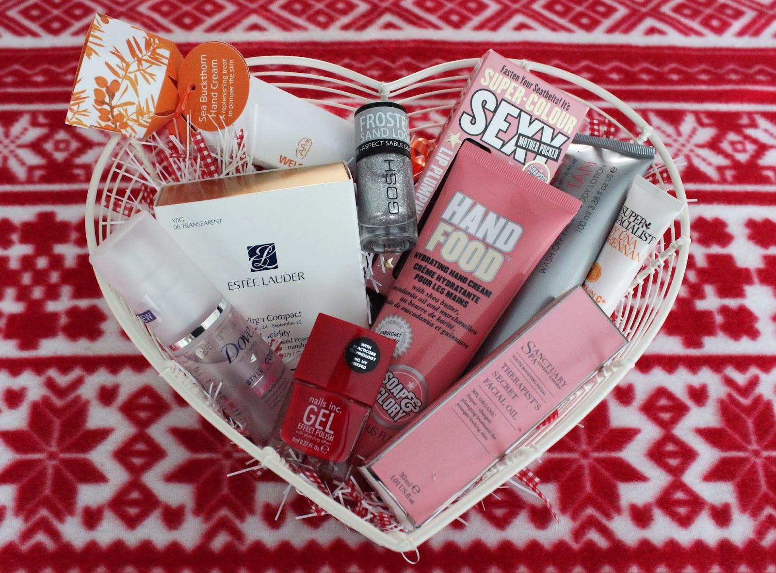 Christmas Gift Idea Diy Beauty Basket