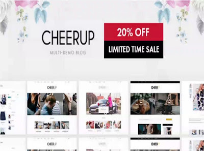 CheerUp Wordpress theme