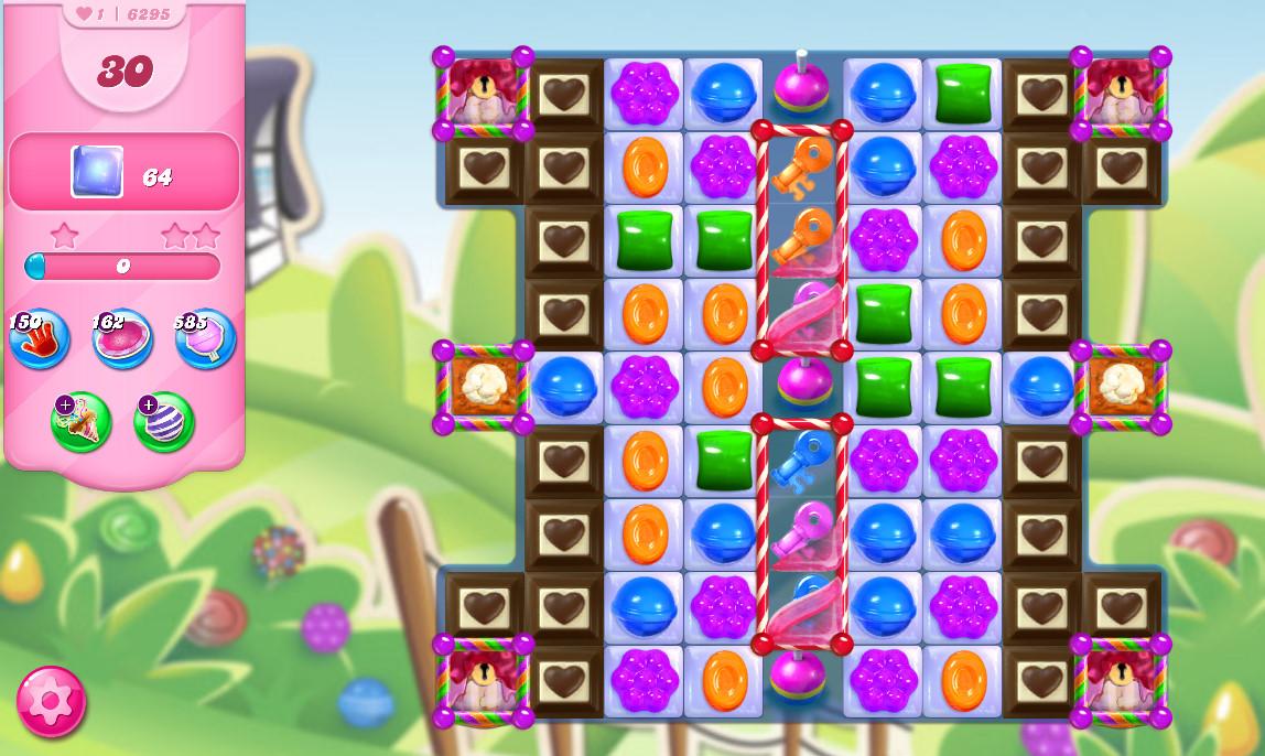 Candy Crush Saga level 6295