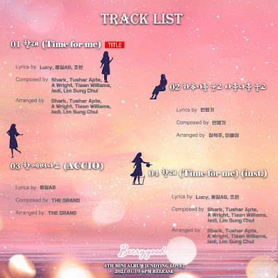 berrygood undying love tracklist