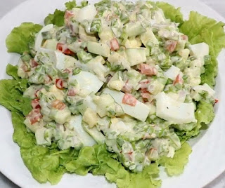 how to make egg salad step by step