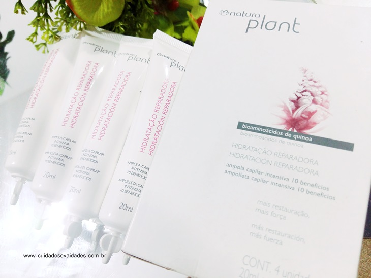 Ampola Multibenefício Natura Plant