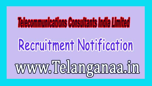 TCIL (Telecommunications Consultants India Limited) Recruitment Notification 2016