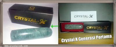 crystal x nasa generasi awal (pertama)