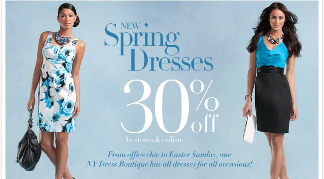 New York & Company provides gorgeous women's fashion and accessories perfect for creating stunning new looks. Visit their catalog and redeem this offer for $25 off your order of $75 of new arrivals like 7th Avenue dresses and moto jackets.