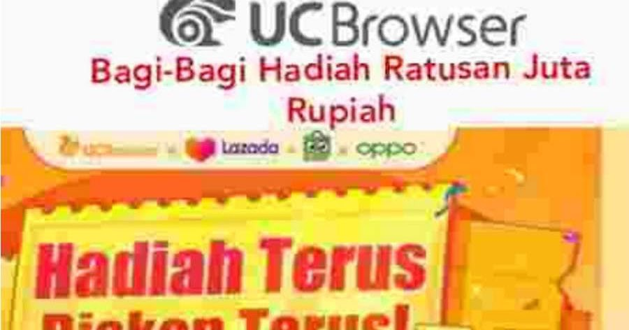 Trik Hack Referral Kode UC Browser 1 Juta Voucher Belanja