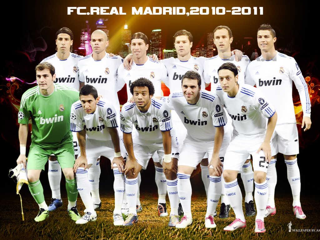 Real Madrid Squad For 2011-2012 Season