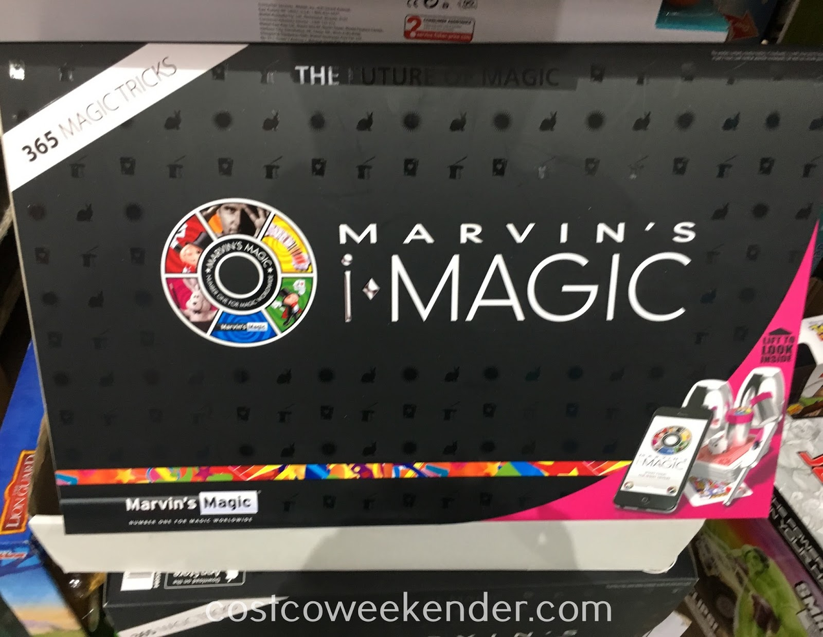 Prepare to amaze your friends with Marvin's Magic iMagic Set