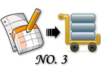利用 Google 試算表當小型資料庫 (3)簡易查詢與排序 (及新版試算表讀取流程)