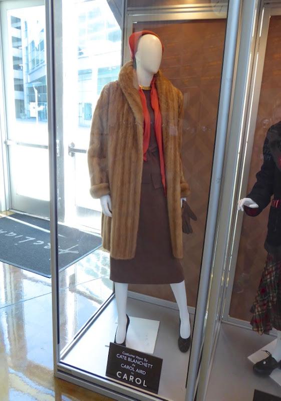 Cate Blanchett Carol Aird fur coat costume