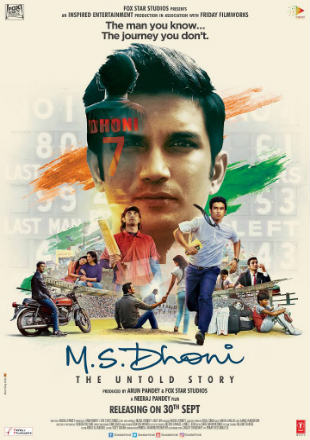 M.S. Dhoni The Untold Story 2016 Full Hindi Movie Download