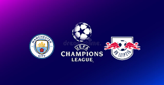Manchester City vs RB Leipzig Live