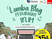 Lomba Menulis Blog Nasional 2020, Gratis