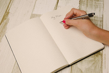 Have a blank notebook, here are some ideas for using it