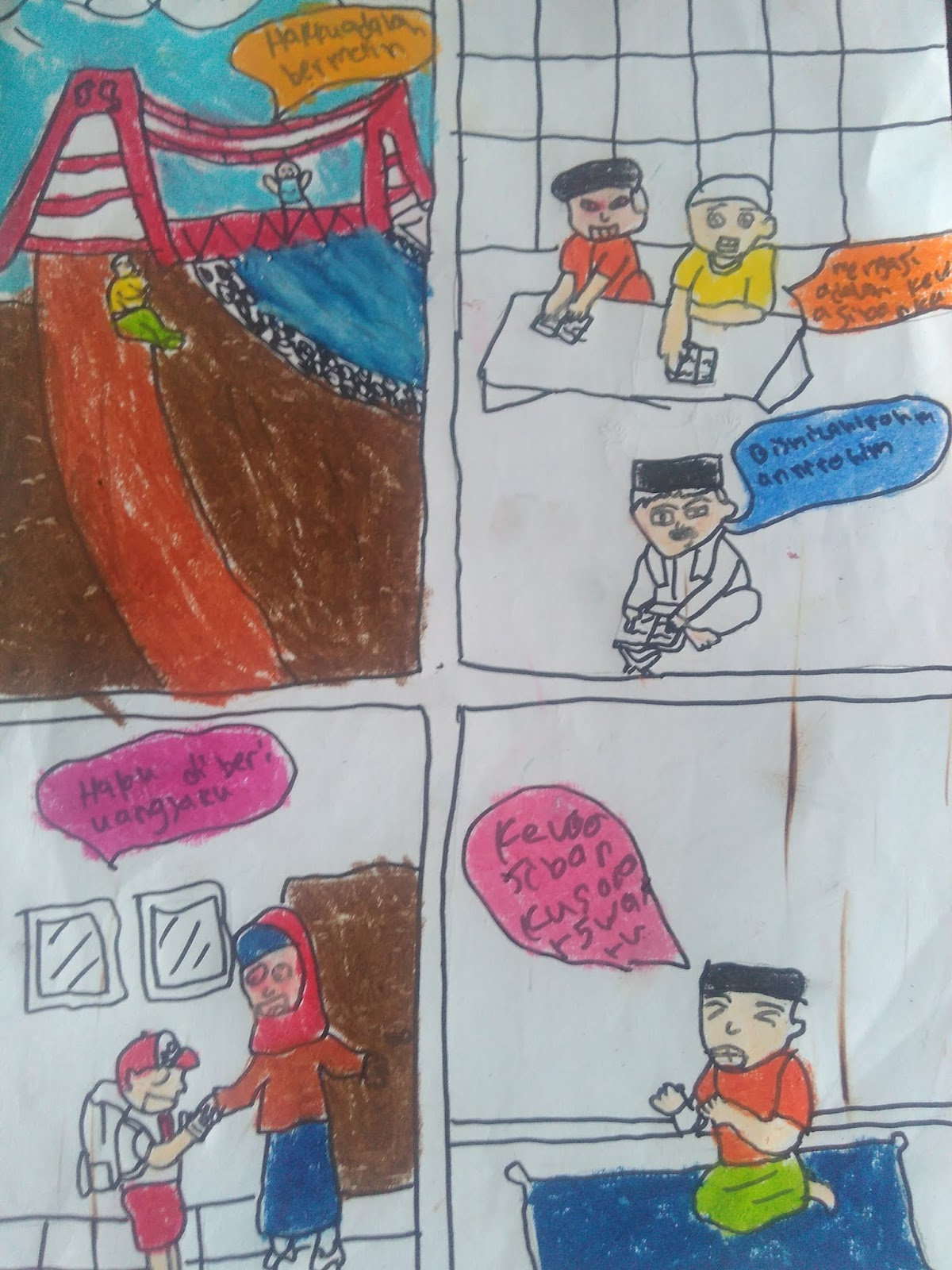 Gambar Komik Hak Dan Kewajibanmu Sebagai Seorang Siswa Maupun Sebagai Seorang Anak Gurune Net