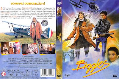 Carátula dvd: Biggles, el viajero del tiempo 1986