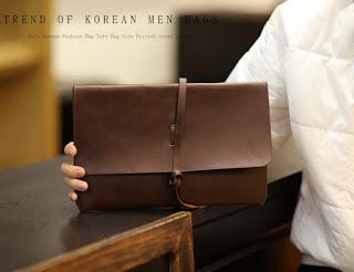 Tas Tangan Cowok Murah Model Korea Terbaru Maret 2016