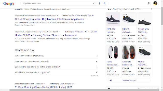 PPC SEM Google Example