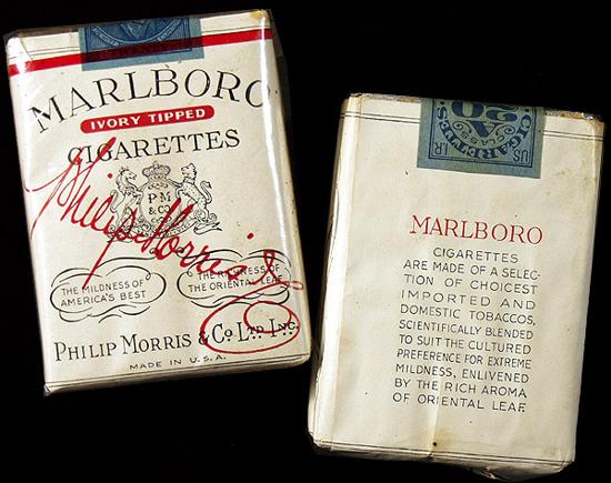 Marlboro pack 1930