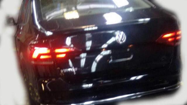 Volkswagen Virtus (Polo Sedan 2018) - traseira